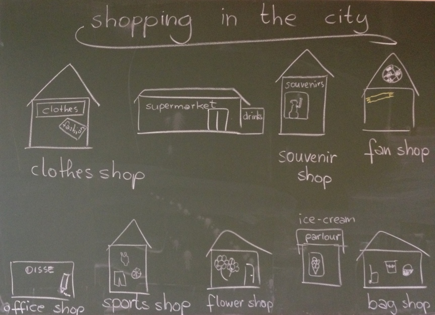 """Let's go """"shopping in thecity"""""""