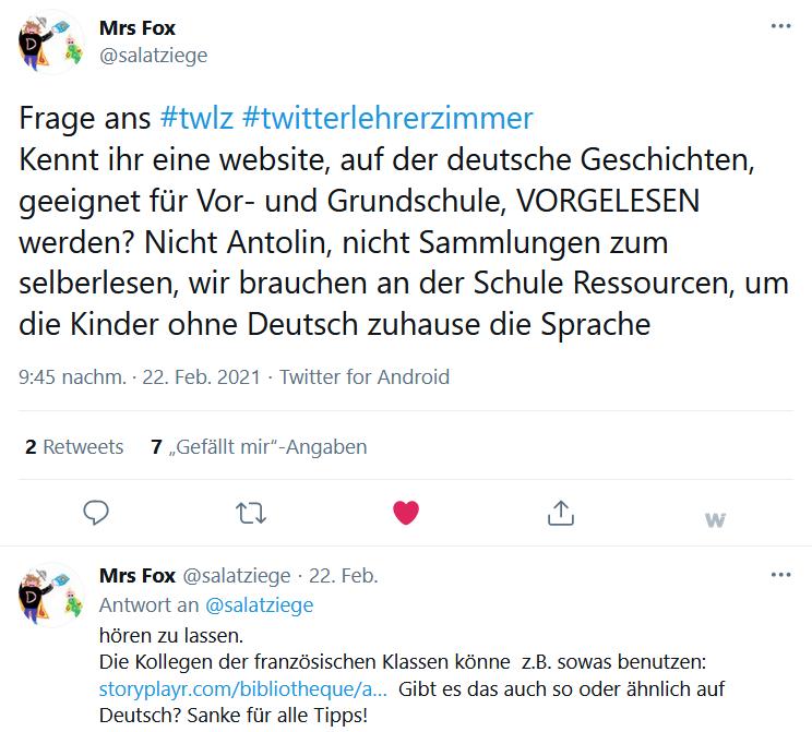 Geschichten deutsche Lesen auf